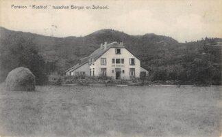 Ansichtkaart Bergen (NH) en Schoorl Pension Rusthof HC5684