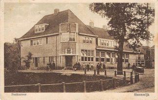 Ansichtkaart Steenwijk Postkantoor 1935 HC5685