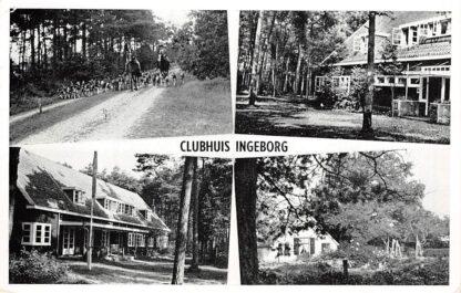Ansichtkaart Leusden Clubhuis Ingeborg Paradijsweg 15 HC5686