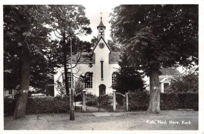 Ansichtkaart Kats Ned. Hervormde Kerk HC5705