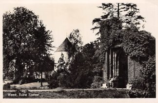 Ansichtkaart Weert Ruïne Kasteel 1948 HC5706