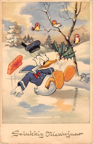 Ansichtkaart Disney Donald Duck Strip 1951 HC5743
