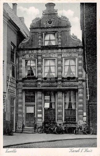 Ansichtkaart Zwolle Karel V Huis 1938 HC5746