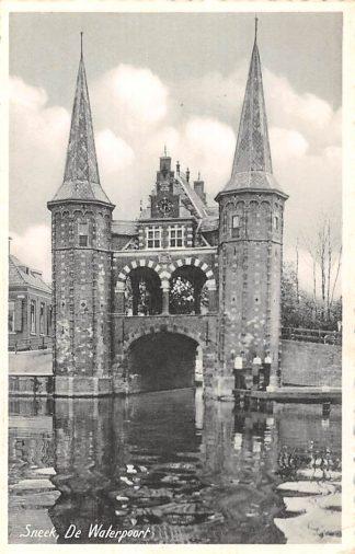 Ansichtkaart Sneek De Waterpoort 1953 HC5747