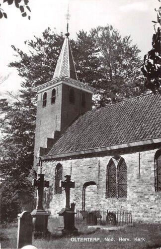 Ansichtkaart Olterterp Ned. Hervormde Kerk met begraafplaats 1974 HC5751