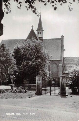 Ansichtkaart Chaam Ned. Hervormde Kerk 1964 HC5755