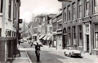 Ansichtkaart Gouda Lange Tiendeweg Daf Auto HC5787