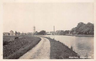 Ansichtkaart Meerkerk Kanaalzicht met Watertoren 1950 HC5820