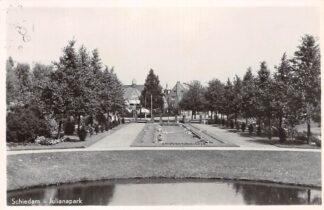 Ansichtkaart Schiedam Julianapark 1951 HC5823
