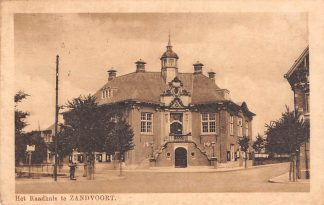 Ansichtkaart Zandvoort Het Raadhuis HC5835