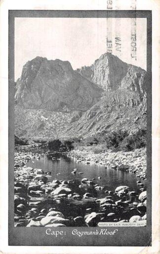 Ansichtkaart Zuid-Afrika Cape Gogmans Kloof 1928 Afrika Africa HC5853