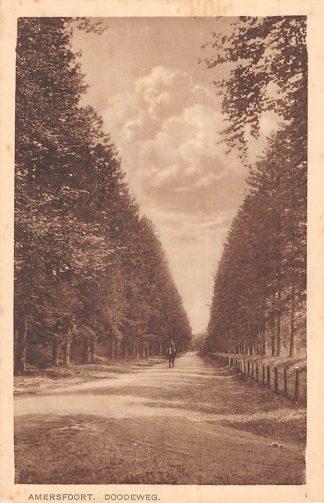Ansichtkaart Amersfoort Doodeweg Ruiter te Paard HC5854