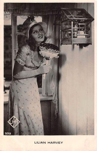 Ansichtkaart Film Filmster Lilian Harvey UFA 202 HC5857