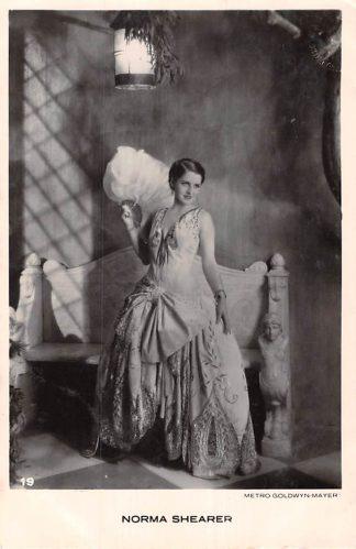 Ansichtkaart Film Filmster Norma Schaerer Metro Goldwyn Mayer 19 HC5858