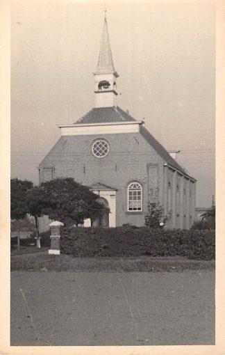 Ansichtkaart Ommelanderwijk bij Veendam Originele fotokaart Ned. Hervormde Kerk HC5861