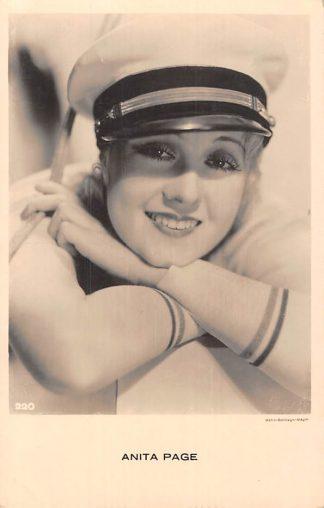 Ansichtkaart Film Filmster Anita Page Metro-Goldwyn-Mayer 220 HC5869