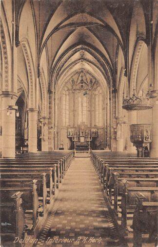 Ansichtkaart Delden Interieur R.K. Kerk 1926 HC5873