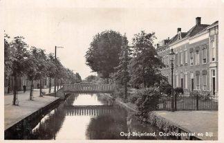 Ansichtkaart Oud Beijerland Oost-Voorstraat en Bijl 1943 Hoeksche Waard HC5894