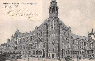 Ansichtkaart Essen a.d. Ruhr Neus Postgebaude Postkantoor Duitsland Deutschland HC5904