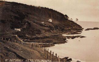 Ansichtkaart Verenigde Staten St. Anthony Head Falmouth USA 1917 Fotokaart Noord-Amerika HC5920