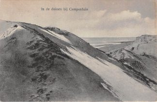 Ansichtkaart Camperduin In de duinen stand en zee 1926 HC5921
