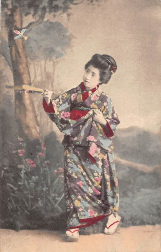 Ansichtkaart Japan Nippon Geisha Azië HC5945