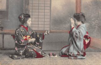 Ansichtkaart Japan Nippon Geisha's Azië HC5949