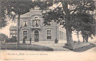 Ansichtkaart Asch 't Klooster op de grens van Zoelmond Kleinrondstempel Buren (GD) 1906 Betuwe HC5964
