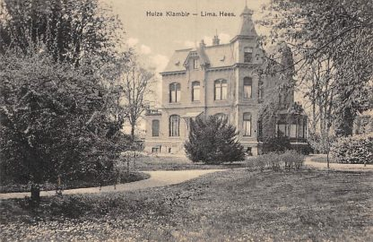 Ansichtkaart Hees Huize Klambir - Lima 1915 HC6018