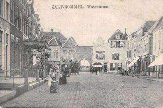 Ansichtkaart Zaltbommel Waterstraat 1907 HC6023