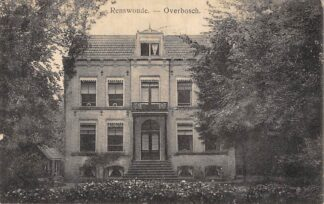 Ansichtkaart Renswoude Overbosch 1911 HC6027