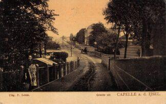 Ansichtkaart Capelle aan den IJssel Gezicht vanaf IJsseldijk richting 's-Gravenweg 1907 Tulp HC6036