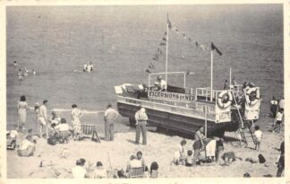 Ansichtkaart Blankenberge Excursions en Mer Strand en zee België HC6040