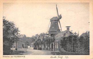 Ansichtkaart Oldehove Molen Zuidhorn Groningen 1929 HC6047