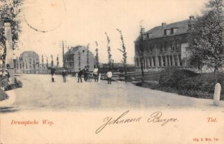 Ansichtkaart Tiel Drumptscheweg 1900 Betuwe C6059