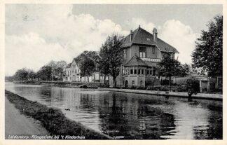 Ansichtkaart Leiderdorp Rijngezicht bij 't Kinderhuis HC6062