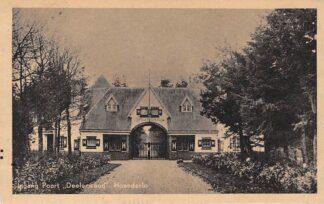 Ansichtkaart Hoenderloo Ingang Poort Deelerwoud 1947 HC6063