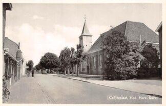 Ansichtkaart Colijnsplaat Ned. Hervormde Kerk 1956 Noord-Beveland Veere HC6073