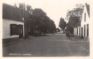 Ansichtkaart Lexmond Fotokaart Groeten uit 1936 Vianen HC6076
