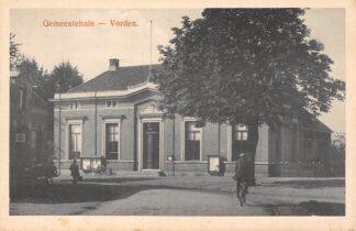 Ansichtkaart Vorden Gemeentehuis HC6080
