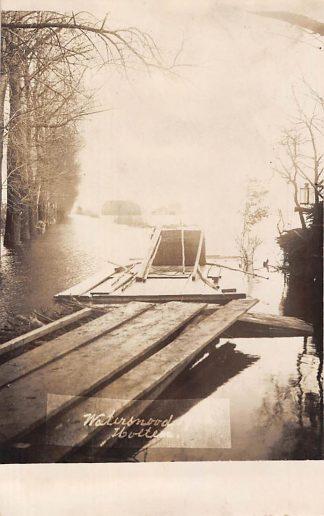 Ansichtkaart Holten Fotokaart Watersnood 1926 HC6093