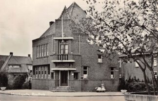 Ansichtkaart Moerkapelle Raadhuis 1958 (Afgebroken) HC6134