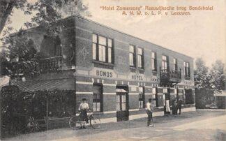 Ansichtkaart Reeuwijk Reeuwijksche Brug Hotel Zomerzorg Bondshotel A.N.W.B. L.P. van Leeuwen Bodegraven HC6144