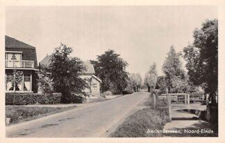 Ansichtkaart Aarlanderveen Noord-Einde 1948 HC6157