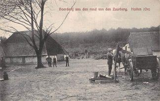 Ansichtkaart Holten Boerderij aan den rand van den Zuurberg Paard en wagen HC6172