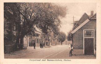 Ansichtkaart Holten Dorpstraat met Gemeentehuis HC6175