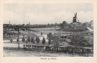 Ansichtkaart Holten Gezicht op Holten met molen Paard en wagen HC6176