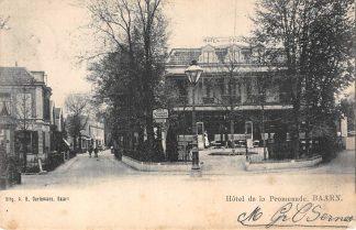 Ansichtkaart Baarn Hotel de la Promenade Kleinrondstempel Soest (Soestdijk) HC6209