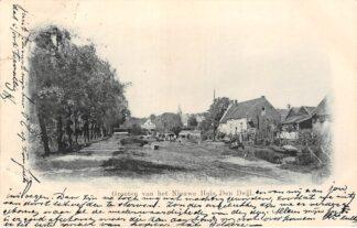 Ansichtkaart Wassenaar Groeten van het Nieuwe Huis Den Deijl 1902 HC6211