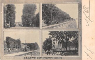 Ansichtkaart Stompetoren Tramspoor Vierluik Schermer Alkmaar HC6227